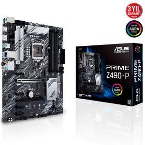 Asus PRIME Z490-P LGA1200 Soket Intel Z490 Anakart