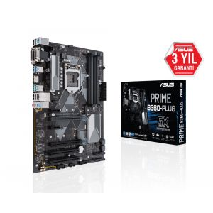 ASUS PRIME B360-PLUS 1151P v2 Anakart