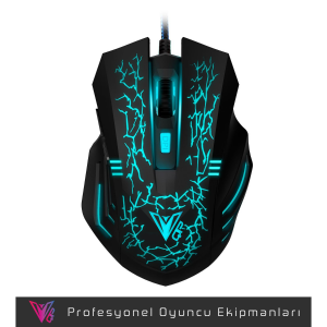 QP MS672 2400DPI RGB Gaming Mouse