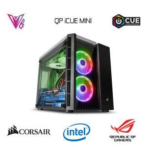 QP iCUE Mini - GeForce RTX 2060 / i5 10400 / 16GB / 480GB M.2 SSD Oyun Bilgisayarı