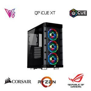 QP iCUE XT- Radeon RX 5700 XT / Ryzen 7 3700X / 16GB / 480GB M.2 SSD Oyun Bilgisayarı