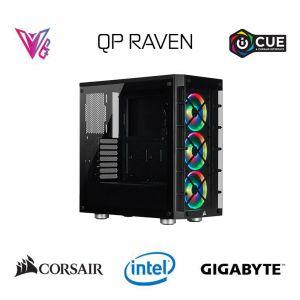 QP RAVEN- GeForce RTX 3070 / Intel Core i9 10900KF / 16GB / 512 GB Oyun Bilgisayarı
