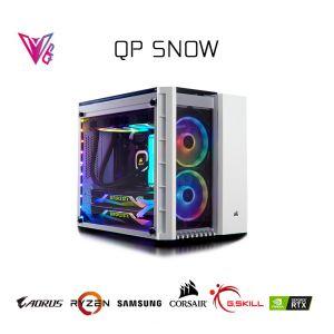 QP Snow - Geforce RTX 2060 Super / R5 3600X / 16GB / 250GB M2 SSD Oyun Bilgisayarı