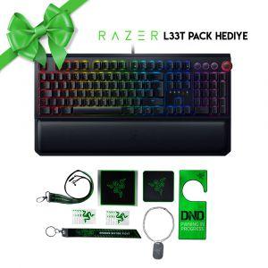 Razer Blackwidow Elite RGB Türkçe Mekanik Oyuncu Klavyesi (Razer Leet Pack Hediyeli)