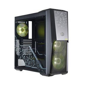 Cooler Master MasterBox MB500 TUF Edition RGB Temperli Cam Yan Panel Mid Tower ATX Bilgisayar Kasası
