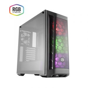 Cooler Master MasterBox MB511 RGB Temperli Cam Yan Panel MidTower ATX Bilgisayar Kasası