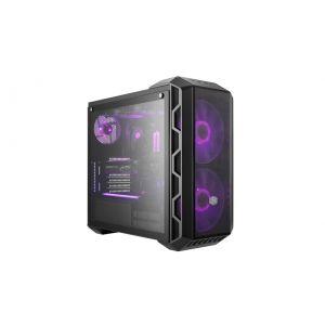 Cooler Master MasterCase H500 RGB Fanlı Temperli Cam Mid Tower ATX Siyah Bilgisayar Kasası