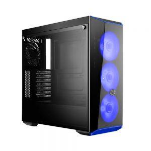 Cooler Master MasterBox Lite 5 80+ 500W Mavi Ledli Pencereli MidTower Kasa