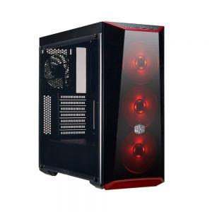 Cooler Master MasterBox Lite 5 80+ 600W Kırmızı Ledli Pencereli MidTower Kasa