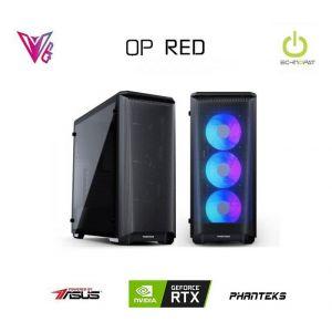 QP RED - GeForce RTX 2070 Super / R7 3700X / 16 GB / 480 GB SSD Oyun Bilgisayarı
