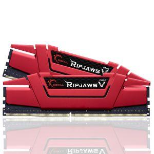 GSKILL RipjawsV Kırmızı 16GB (2X8GB) DDR4 3000Mhz CL16 Ram