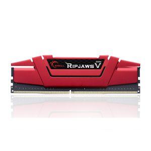 GSKILL RipjawsV Kırmızı 8GB (1x8GB) DDR4 3000Mhz CL16 Ram