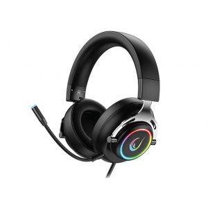 Rampage RM-33 FALCON-X Siyah USB 7,1 Version Oyuncu Mikrofonlu Kulaklık