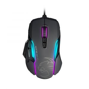 Roccat Kone AIMO RGBA Gri Oyuncu Mouse