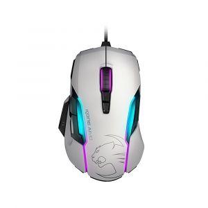 Roccat Kone AIMO RGBA Beyaz Oyuncu Mouse