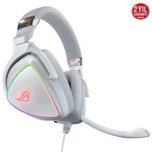 Asus ROG Delta White Edition Hi-Res RGB Oyuncu Kulaklığı