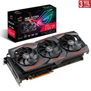 Asus ROG Strix Radeon RX 5700 XT OC 8 GB 256 Bit Ekran Kartı