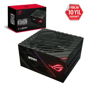 ASUS ROG THOR 850W 80+ Platinum Tam Modüler Güç Kaynağı