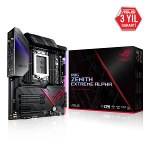ASUS ROG ZENITH EXTREME ALPHA X399 DDR4 3600MHz (OC) TR4 Anakart
