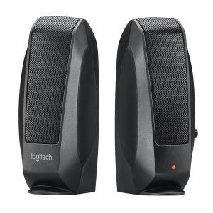 Logitech S120 İnce Tasarım 1+1 Siyah Stereo Ses Sistemi OUTLET