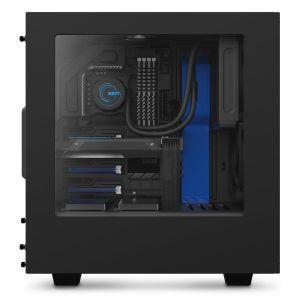 NZXT S340 Mavi Siyah Bilgisayar Kasası