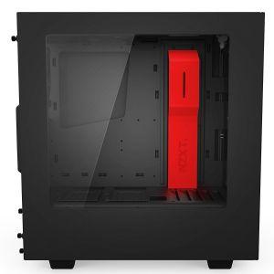 NZXT S340 Kırmızı Siyah Bilgisayar Kasası