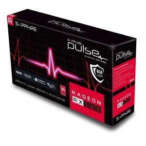 Sapphire Radeon Pulse OC RX 580 8GB 256 Bit AMD Radeon Ekran Kartı