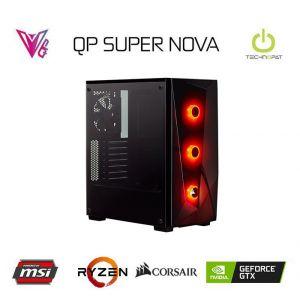 QP SUPER NOVA - GeForce GTX 1660 Ti / R5 2600 / 16 GB / 480 GB SSD Oyun Bilgisayarı