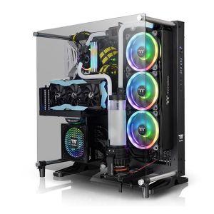 Thermaltake Core P5 V2 Black Edition Temperli Cam Mid Tower ATX Bilgisayar Kasası