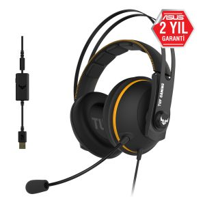 Asus TUF Gaming H7 7.1 Surround Oyuncu Kulaklığı -Sarı