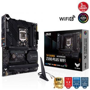 Asus TUF Gaming Z590-PLUS WIFI LGA1200 Intel Z590 Anakart