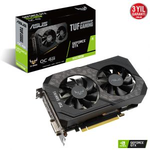Asus TUF Gaming GeForce GTX 1650 Super OC Edition 4GB GDDR6 128Bit Ekran Kartı