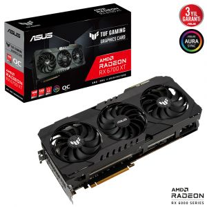 Asus TUF Gaming Radeon RX 6700 XT OC Edition 12G 192 Bit Ekran Kartı