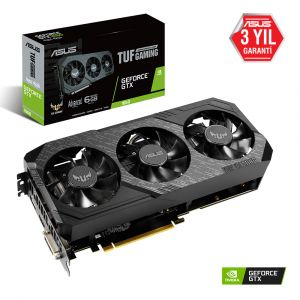 Asus TUF Gaming X3 Geforce GTX 1660 Advanced Edition 6GB GDDR6 192Bit Ekran Kartı