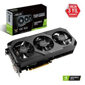Asus TUF Gaming X3 Geforce GTX 1660 OC Edition 6GB GDDR6 192Bit Ekran Kartı