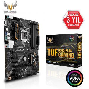ASUS TUF B360-PLUS GAMING 1151P v2 ATX Anakart
