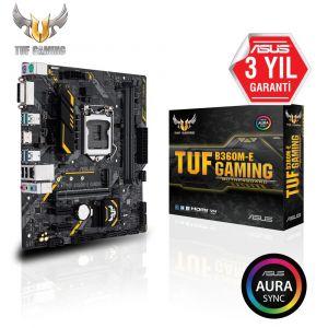 ASUS TUF B360M-E 1151P v2 DDR4 2666MHz mATX Anakart