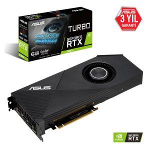 ASUS Turbo GeForce RTX 2060 6GB 192 Bit Ekran Kartı