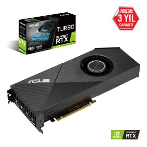 ASUS TURBO GeForce RTX 2070 8GB EVO 256 Bit Ekran Kartı