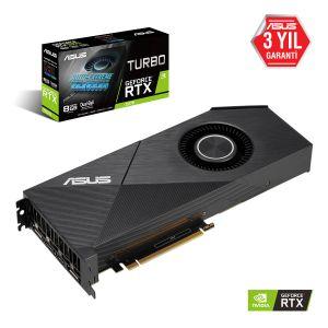 ASUS TURBO GeForce RTX 2070 8GB EVO 256 Bit Ekran Kartı