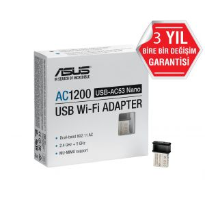 Asus USB-AC53 Nano Wireless Adaptör