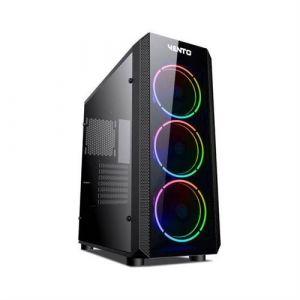 Vento VG04F Temperli Cam Mid Tower ATX RGB Bilgisayar Kasası