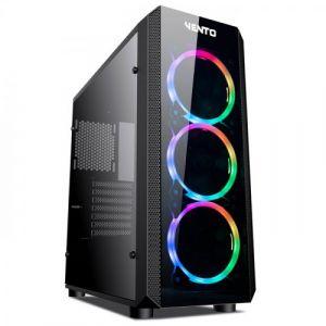 Vento VG04FE Temperli Cam Mid Tower ATX RGB Bilgisayar Kasası