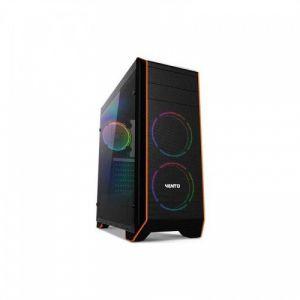 Vento VG06F Temperli Cam Mid Tower ATX RGB Bilgisayar Kasası FSP HP500S 500W Güç Kaynağı