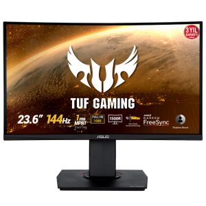 Asus TUF Gaming VG24VQ 23.6'' 1ms 144Hz FreeSync Full HD Kavisli Gaming Monitör