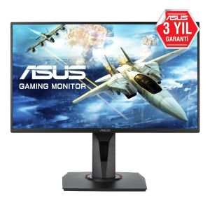 Asus VG258QR 24.5'' 1ms 165Hz FHD FreeSync ve G-Sync Uyumlu Monitör