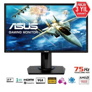 Asus VG275Q 27'' 1ms 75Hz FHD FreeSync Monitör