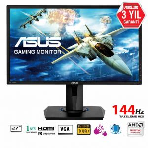 Asus VG278Q 27'' 1ms 144Hz FHD FreeSync™ ve G-Sync Uyumlu Monitör