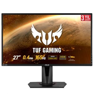 Asus TUF Gaming VG27BQ 27'' 0.4ms 165Hz WQHD G-Sync Uyumlu HDR10 Gaming Monitör