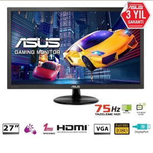 Asus VP278QG 24'' 1ms 75Hz FHD FreeSync Monitör